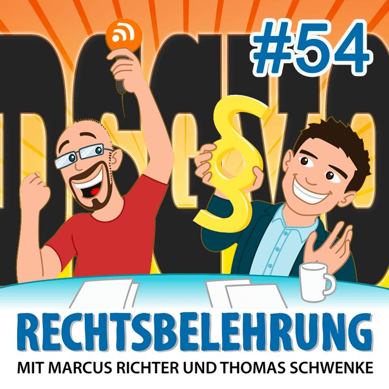 Alles zur DSGVO - Teil 1: Die Grundlagen - Rechtsbelehrung Folge 54 (Jura-Podcast)