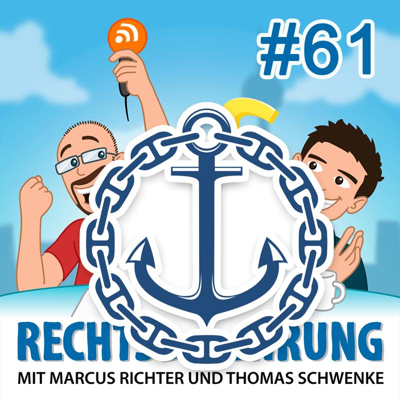 Schifffahrt und Blockchains – Rechtsbelehrung Folge 61 (Jura-Podcast)