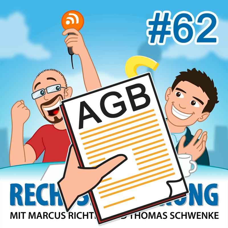AGB – Rechtsbelehrung Folge 62 (Jura-Podcast)